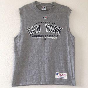 Men Majestic MLB New York Tank Top Size L